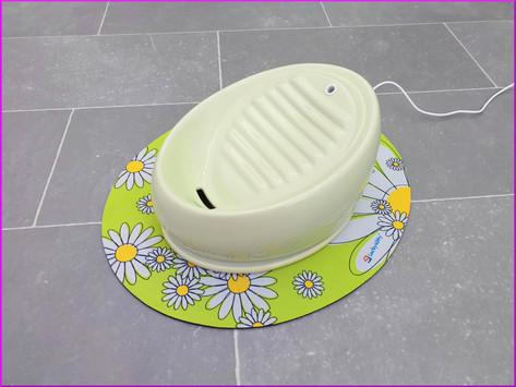 Lucky-Kitty Keramik Trinkbrunnen