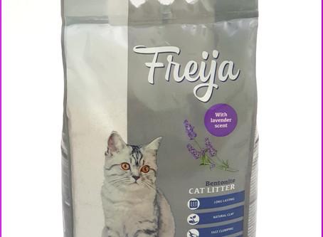 Freija Katzenstreu mit Lavendel-Duft (Action)