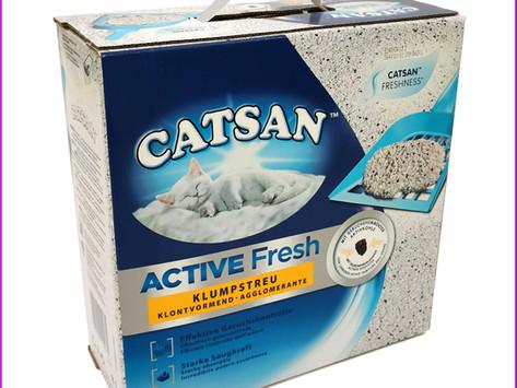 Catsan Active Fresh