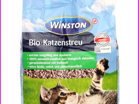 Winston Bio-Katzenstreu (Rossmann)