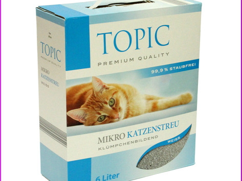 Topic Mikro Katzenstreu