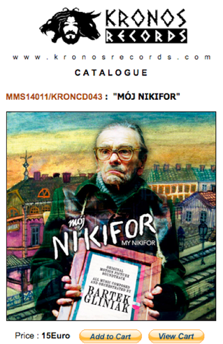 MY NIKIFOR soundtrack available now on CD!