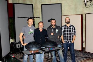 The score for 'A CAT WITH A DOG' - recording session at Eldorado Studio in Burbank: ➜ Bartek, Dan, P