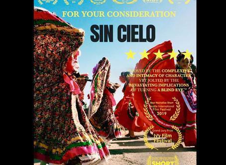 Sin Cielo running for .......
