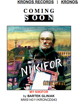 MY NIKIFOR the soundtrack coming soon