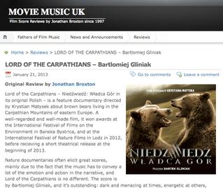 MOVIE MUSIC UK - Review