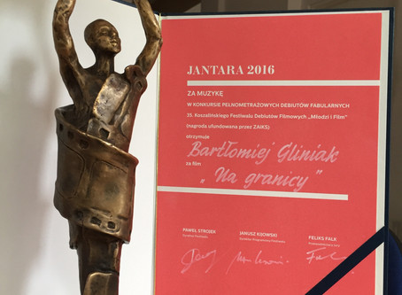 Jantar Award 2016 for Best Score           'The High Frontier'