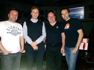 Recording in Alvernia Studios