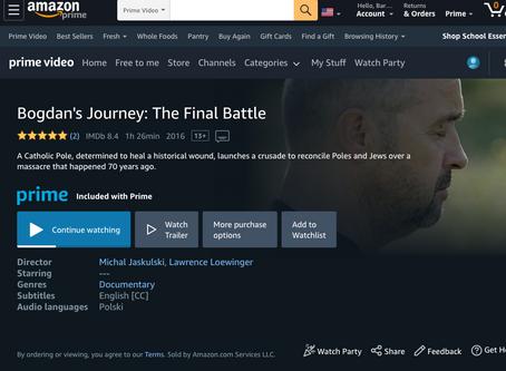BOGDAN'S JOURNEY available on Amazon Prime