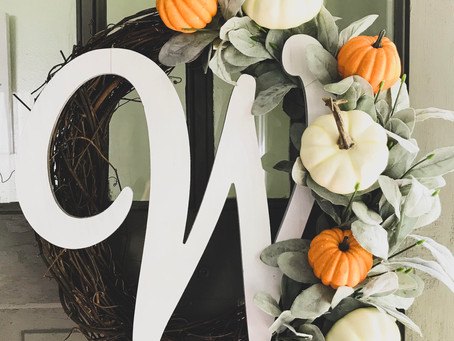 DIY Affordable Fall Wreath