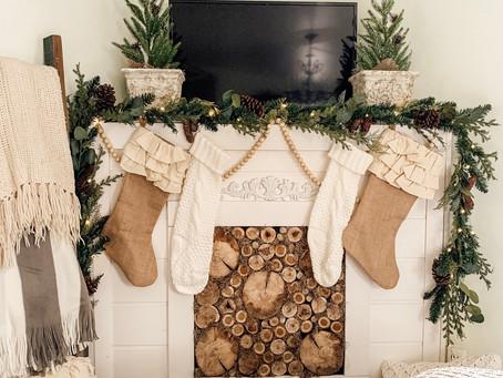 Cozy Master Bedroom Fireplace Decor ☕️🌲🔥
