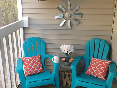 Patio for Pennies!