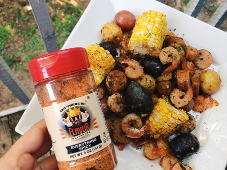 At Home One Pan Shrimp Boil Recipe