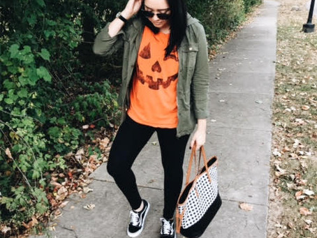 A Halloween Outfit for the Cheap & Lazy