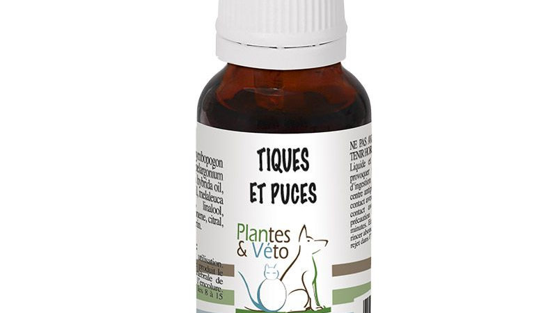 Tiques & Puces - Plantes & Véto