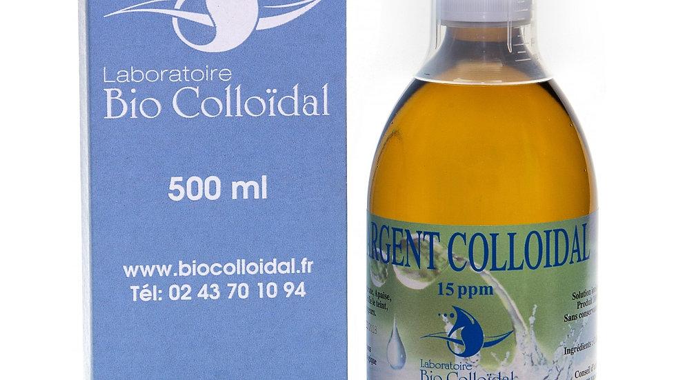 Argent Colloïdal (Laboratoire Bio Colloïdal) - 15 ppm - 500mL
