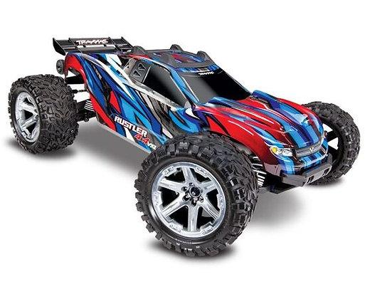 67076-4BL TRUCK RUSTLER VXL 1:10 4WD EP RTR BLU