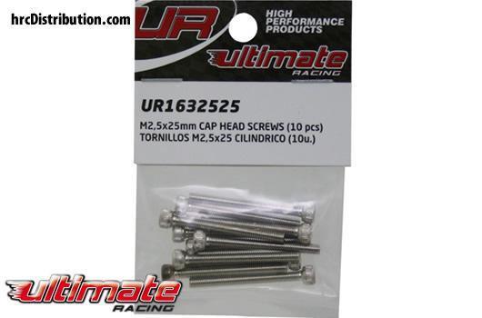 M2,5X25mm TESTA CILINDRICA (10) ALLEN