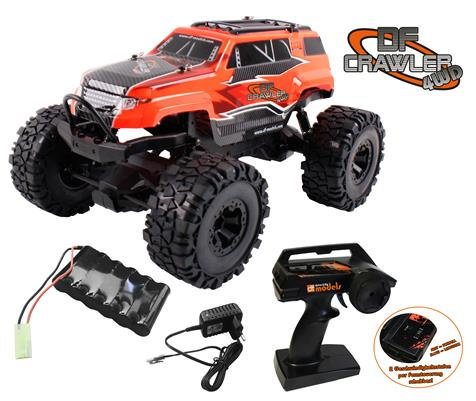 DF CRAWLER PICK-UP 1/10 4WD RTR ROSSO