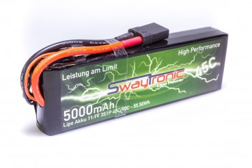 Sway-TRX LiPo 3S 11.1V 5000mAh 45C / 90C TRX