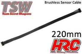 CAVO SENSORE PIATTO BRISHLESS TSW PRO RACING 200mm