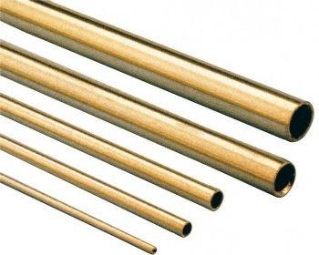 TUBO OTTONE 1000 x 3.0 x2.2mm