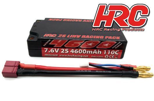 BATTERIA LiHV 2S 7.6V 4600mAh 110C GRAPHENE SHORTY 4mm