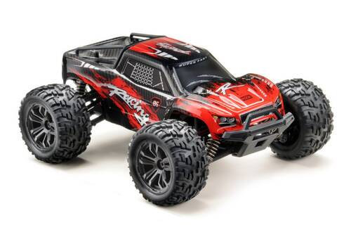 ABSIMA Scale 1:14 4WD High-Speed Truck RACING black/red RTR