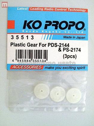 35513 INGRANAGGI PLASTICA PER KO-PROPO PSD-2144 &PS-2174