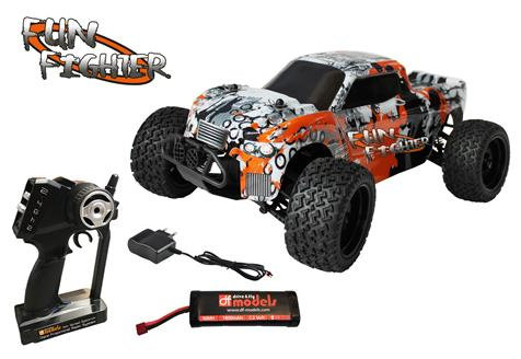 DF FUN FIGHTER BRUSHED TRUCK 4WD RTR 1/10