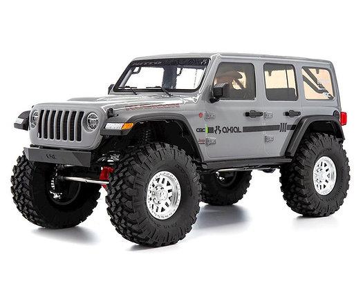 1/10 SCX10 III Jeep JLU Wrangler con portali RTR, grigio