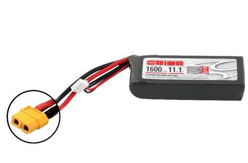 ORI LIPO 11.1V 1600 3S 50C LED XT60 PLUG