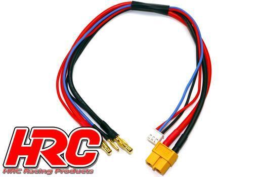HRC CAVO DI CARICA CONNETTORE XT60 A 4mm 50cm
