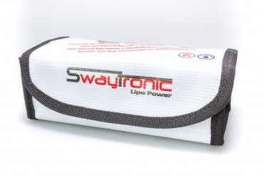 SWAYTRONIC LIPO SAFE-BOX BIANCO
