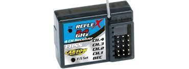 CARSON 500501520 - CONTROLLER/RICEVITORE REFLEX-X / LCD A 3 CANALI, 2,4 GHZ