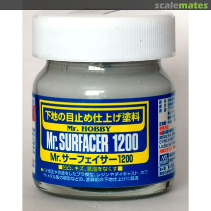 GU.SF286 MR.SURFACER 1200 PRIMER LIQUIDA GRANA FINE 40ML