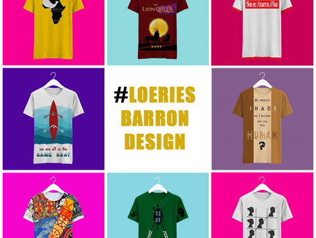 Design the official Loeries T-Shirt and be a VIP at Creative Week!