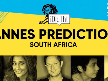 Cannes Lion Predictions 2019`