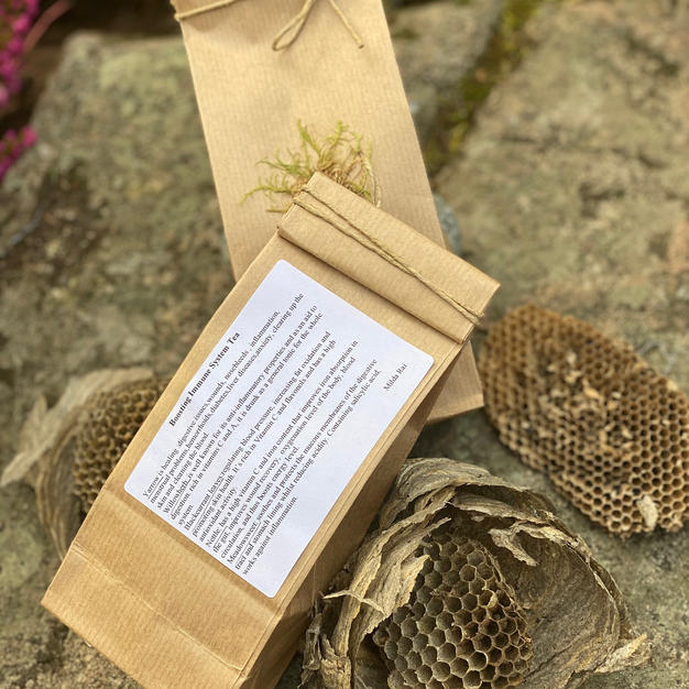 I am offering these wild herb tea bags f