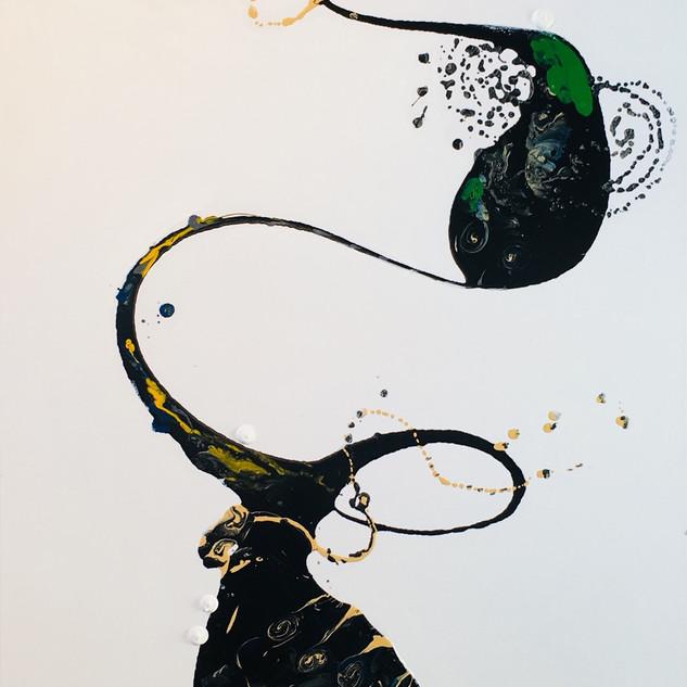 A trea of life 100x 50cm, oil on canvas