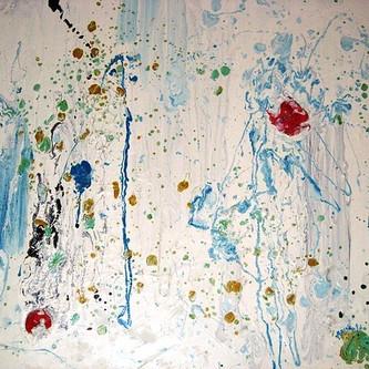 Vanilla ice cream 30x40cm. oil on canvas