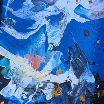 Mountains 70x50cm. oil on canvas