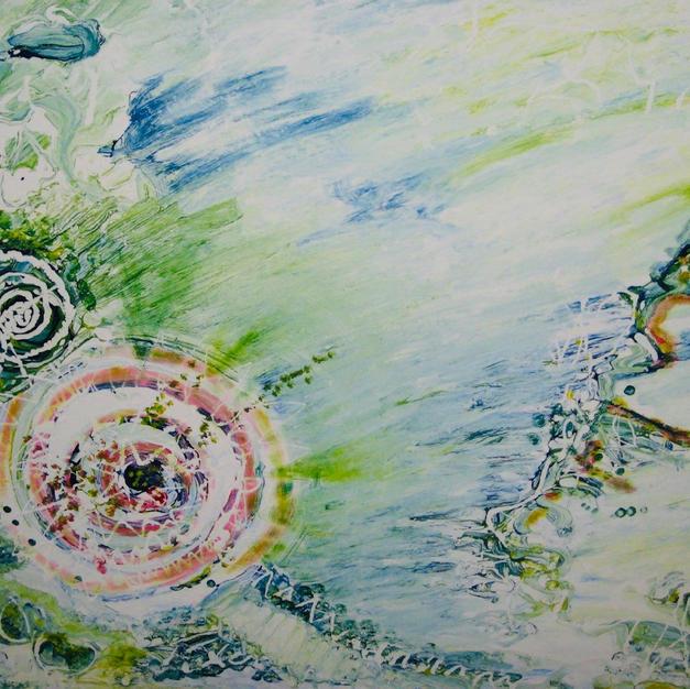 Enlightenment 69x79cm. Oil on canvas, de