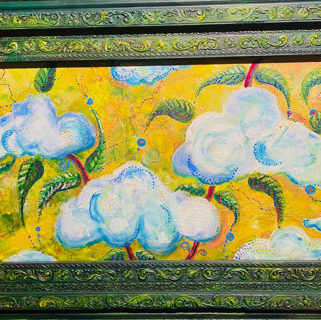 """""""In the clouds"""" 400euro"""