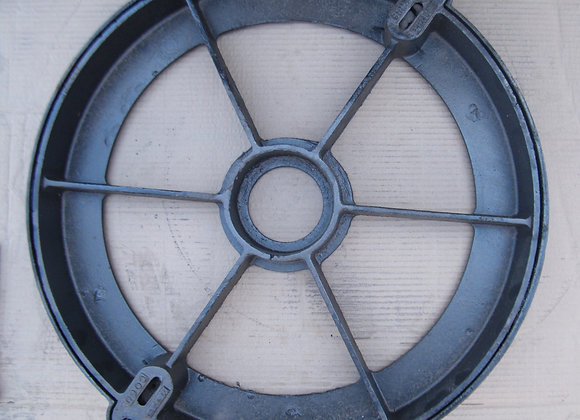 Round manhole cover for cement use without lock - F  |  60 cm  |  D400