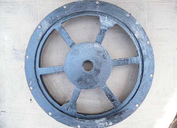 Round manhole cover for cement use with lock - F  |  50 cm  |  D400