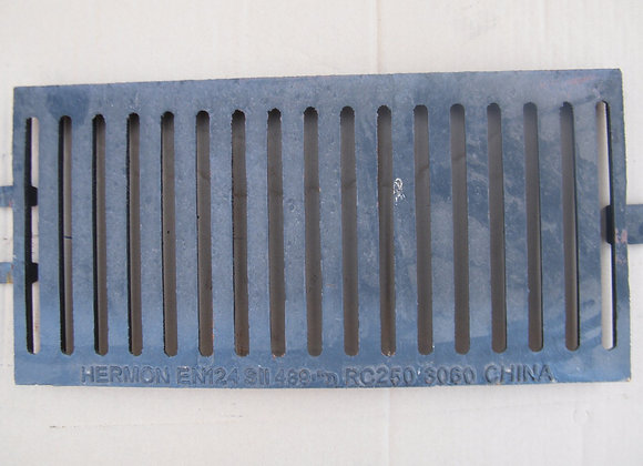 Square drainage grate without Frame  |  30x60 cm  |  C250