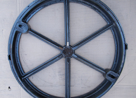 Round manhole cover for cement use  |  50 cm  |  B125