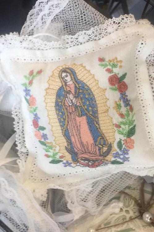 Almofada mini Nossa Senhora de Guadalupe