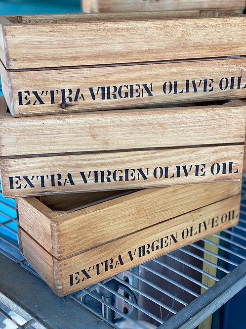 Caixa de Madeira para Azeite